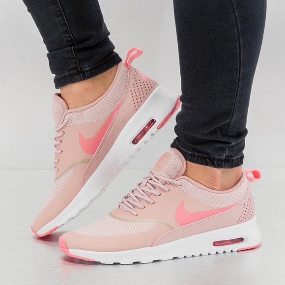 59fead5e355 Nike Air Max Thea Pink Oxford   White Sneakers
