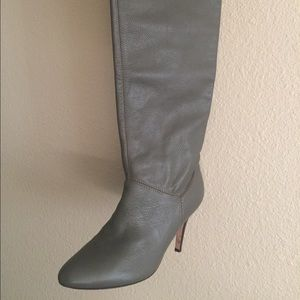 Dolce Vita Shoes - Grey dolce vita over the knee leather boot...DEAL