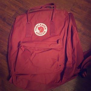 Fjallraven Handbags - Fjallraven Kanken Back Pack in Ox Red