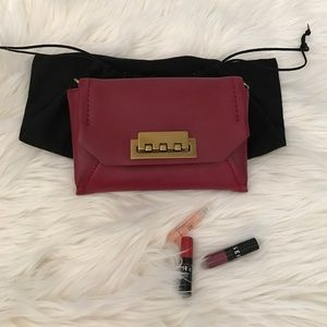 Zac Posen Handbags - Zac Posen Red Clutch/Crossbody