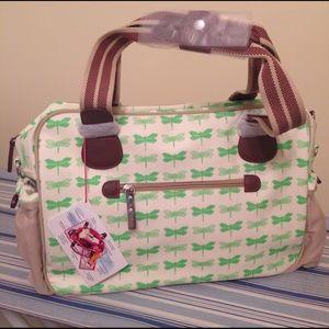 🆕 Pink Lining diaper bag