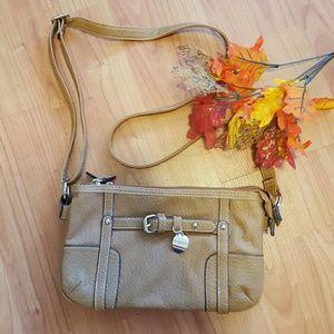 Rosetti  Handbags - Rosetti dark tan double compartment cross body