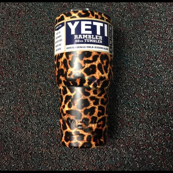 b9ca36c0492 Yeti Other | New 30 Oz Cup Rambler Outdoor Cheetah | Poshmark