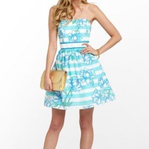 LILLY PULITZER TOSSING THE LINE LANGLEY DRESS