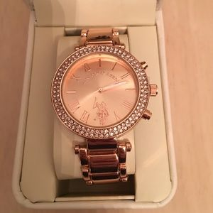 U.S. Polo Assn. Accessories - Rose Gold Watch NWT