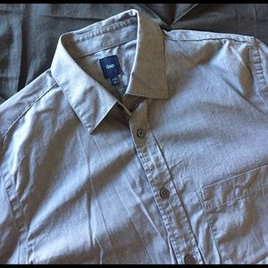 GAP Other - 🎉Host Pick🎉 GAP Grey Button Down- Like New!