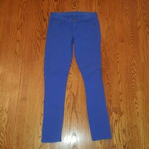J. Crew Pants - J.Crew blue toothpick jeans size 27 tall ankle