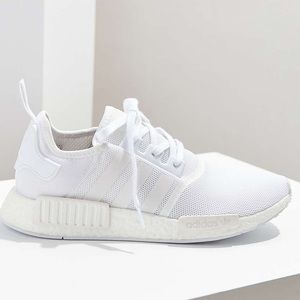sports shoes be853 f98fa SOLD. Adidas White NMD R1 Women's Triple White NWT