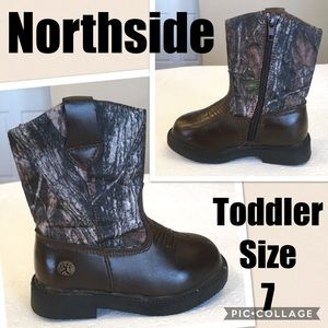"Northside Other - Northside ""Partner"" Boots in Brown Camo Size 7"