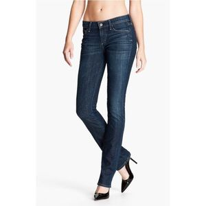 Citizens of Humanity Denim - 'Ava' Straight Leg Stretch Jeans in Galaxy
