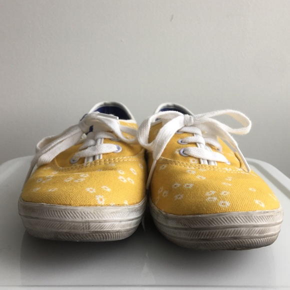 Keds Shoes - Yellow Daisy Keds Sneakers