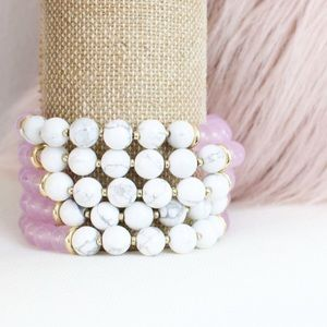 Twilight Gypsy Collective Jewelry - Marble Stretch Bracelet