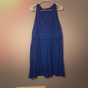 Blue summer dress with pockets!