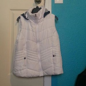 Bongo White and blue Vest