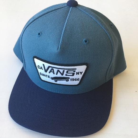 42cf99d68f VANS FULL PATCH SNAPBACK HAT-KIDS