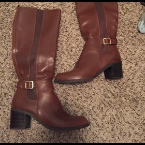 Sam & Libby Shoes - Heeled Riding Boots