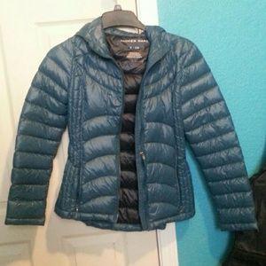 Andrew Marc Blue Rain jacket