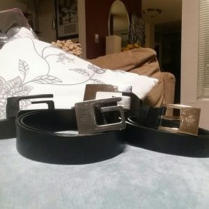 Gucci Accessories - Ladies Gucci Black Leather Belt