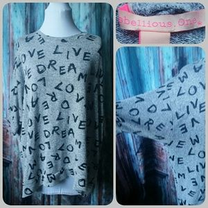 Rebellious One Tops - REBELLIOUS ONE Live Love Dream top