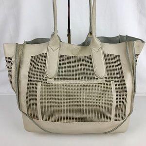 Linea Pelle Handbags - Linea Pelle Large Leather Preston Tote