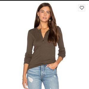 ATM Anthony Thomas Melillo Tops - ATM Henley Top