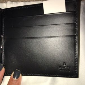 000506b16858 Gucci Accessories | Mens Signature Money Clip Wallet | Poshmark