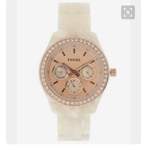 final markdown Rose Gold Fossil watch