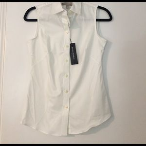 Collared Button Down Tank