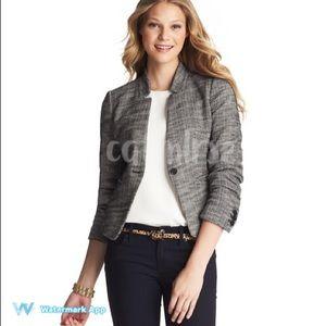 LOFT Jackets & Blazers - ❌SOLD❌ LOFT Petite Stretch Tweed Blazer Jacket