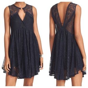 FP Don't You Dare Lace Shift Dress