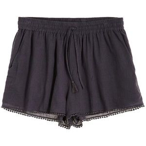 Calypso St. Barth Pants - Rowena Shorts in Coal
