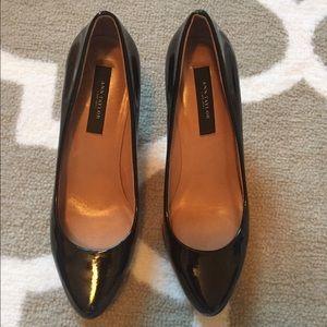 Ann Taylor Shoes - Ann Taylor Perfect Patent Kitten Heel Pumps