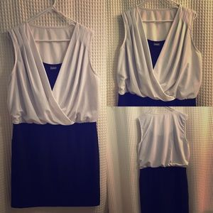Frederick's of Hollywood Dresses & Skirts - 🔴 Three in one - Draped top, pencil skirt dress