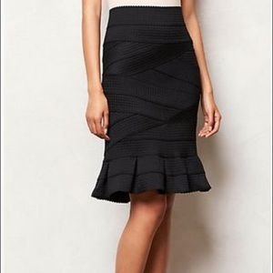 Anthropologie Girls From Savoy High Waist Skirt