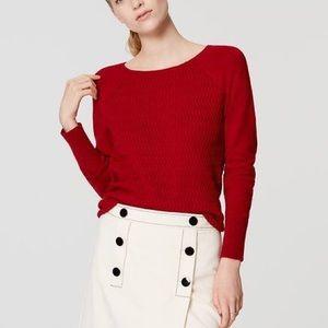 LOFT Sweaters - LOFT garnet sweater