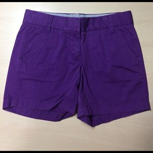 J. Crew Pants - J. Crew Vibrant Purple Cotton Broken in Chinos - 0