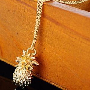 Jewelry - Pineapple Gold Plated Necklace
