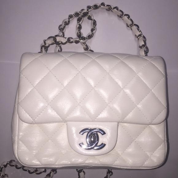 0d1d7926d56b CHANEL Handbags - 💯authentic Chanel Classic Mini Square Flap bag