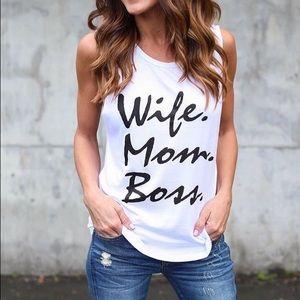 Tops - Mom Tee $28 @ maartz.com