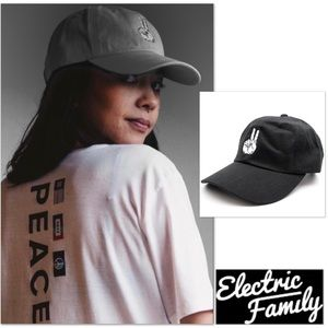 Electric Family Accessories - ✌🏼❤🌈🦄 New! PEACE UP dad hat 🆕