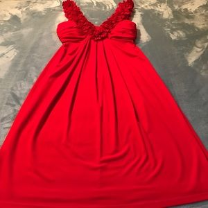 Maggy London Dresses & Skirts - Maggy London Red Sleeveless Cocktail Dress Sz 4