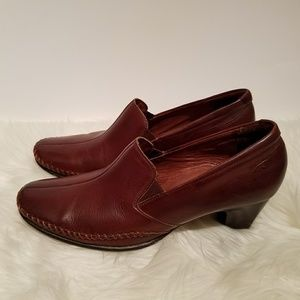 PIKOLINOS Shoes - Pikolinos Brown Leather Oxford Pumps, Size 37