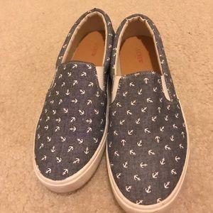 Jcrew slip on sneakers