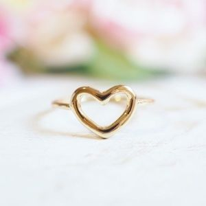 Twilight Gypsy Collective Jewelry - Gold Heart Ring