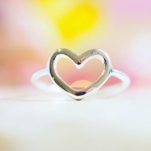 Twilight Gypsy Collective Jewelry - Silver Heart Ring