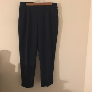 J. Crew Collection Navy Trousers