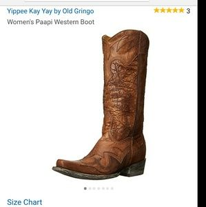 """Old Gringo Shoes - Old Gringo Paapi 13"""" Cowboy Western Boots w/Box"""