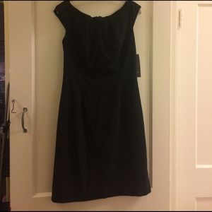 Tailored Black Professional Dress