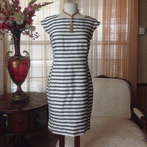 Trina Turk Dresses & Skirts - Trina Turk black & white striped dress
