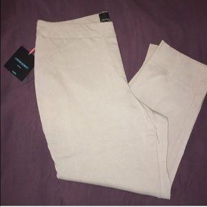 Grey Cynthia Rowley Capri pants